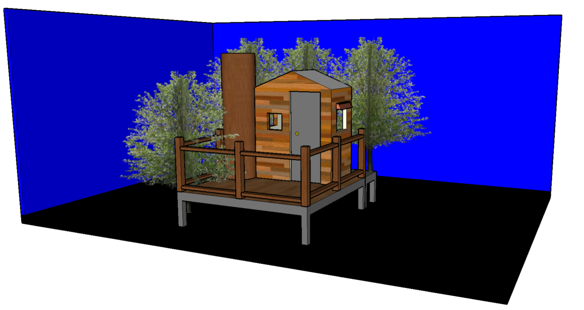 Treehouse Isometric